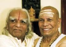 Pattabhi Jois i B.K.S. Iyengar