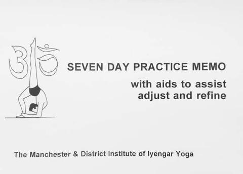 Sekwencja na siedem dni praktyki asan