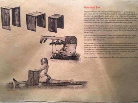 Halasana box